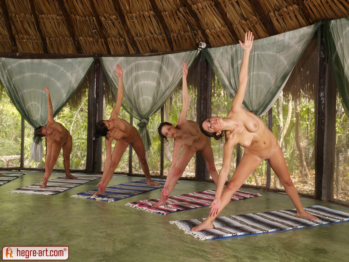 Hot Girls Doing Naked Yoga