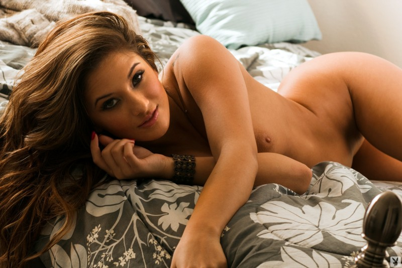 kaitlyn-mason-bed-time-play-nude-playboy-17