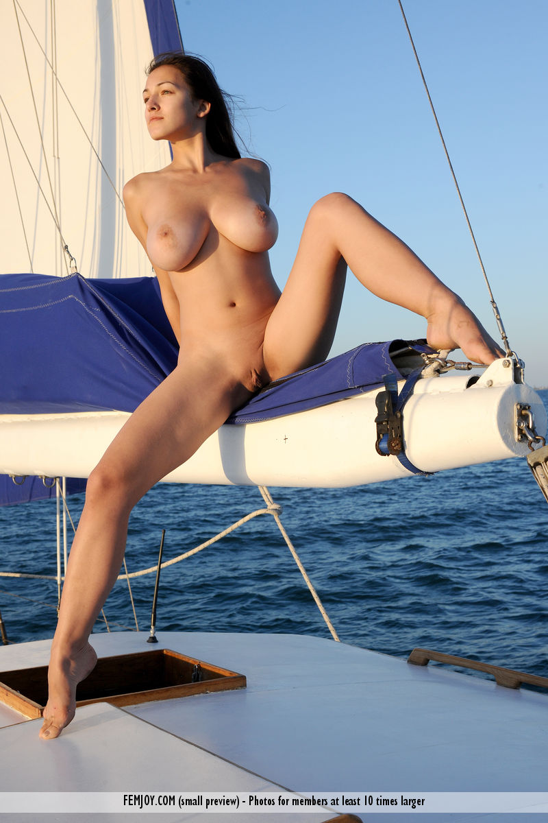 Naked sailing love them