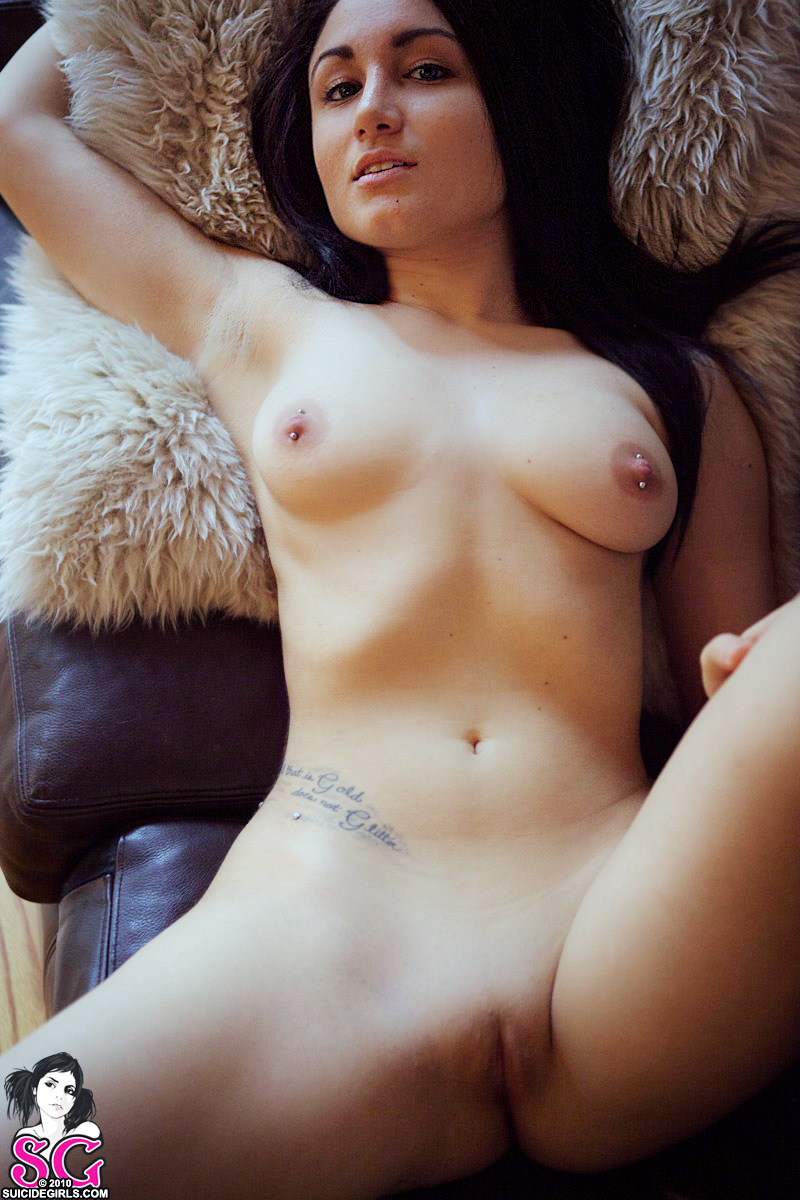 Suicide girl rosy naked where