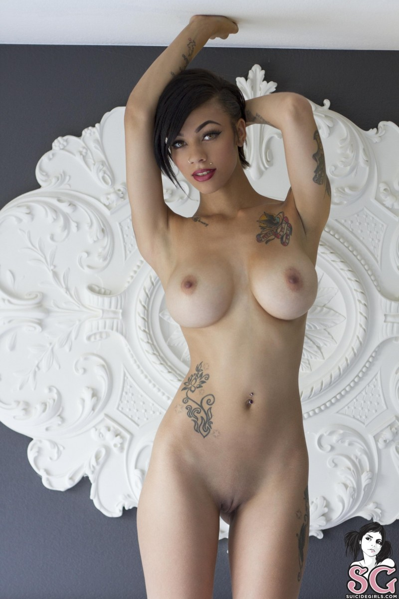 big boobs with tattoos nude
