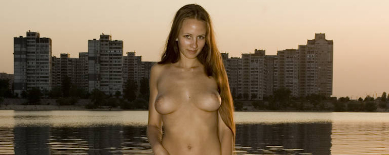 Julia K – Sunset by the river