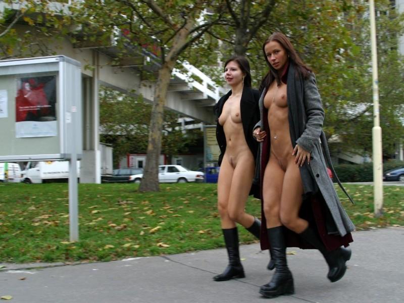 zuzana nude public