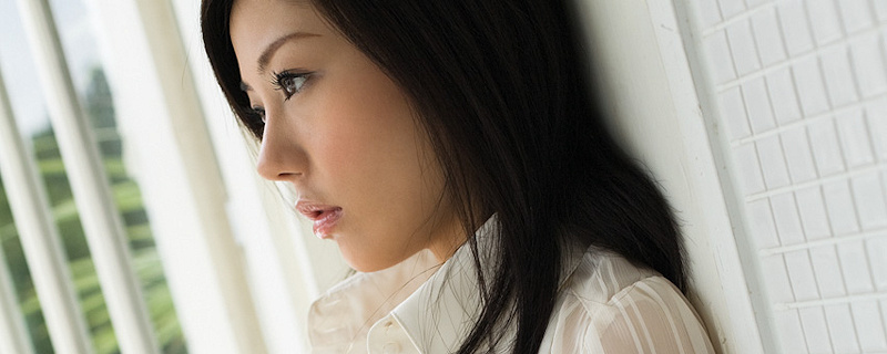 Takami Hou – White transparent shirt