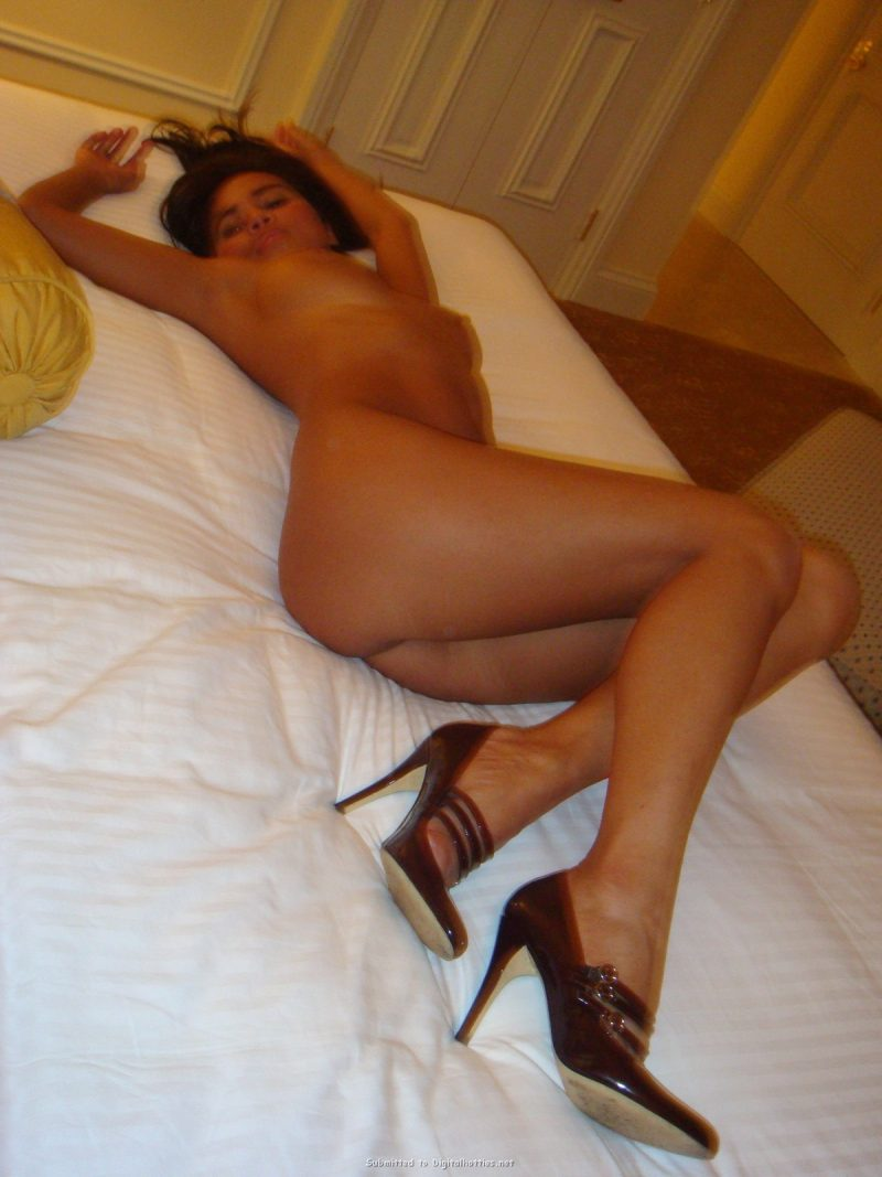 image Brunette hotel room and huge facial brother