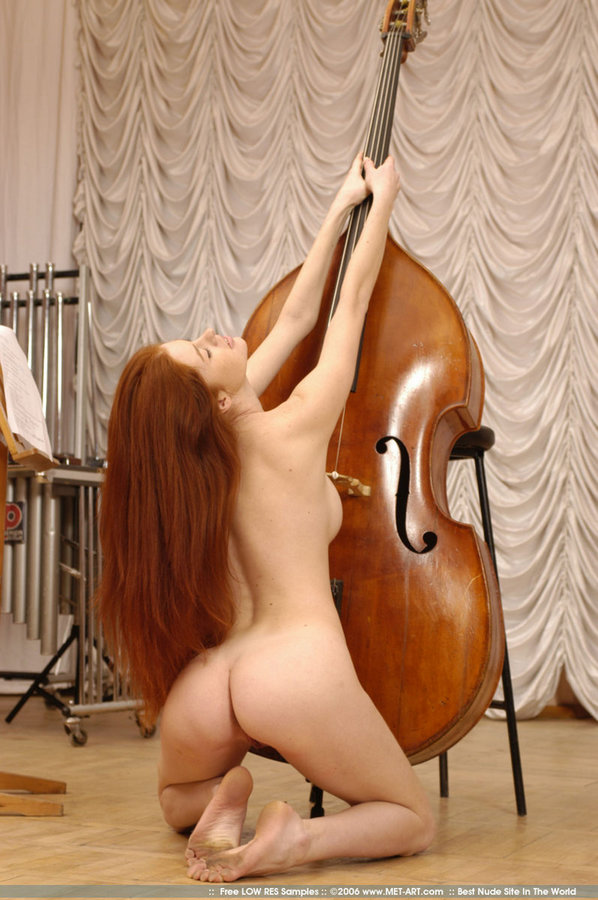from Lennon nude girl w bass