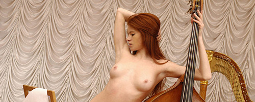 Tanya and double bass