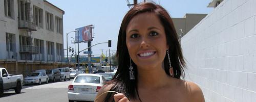 Tasia Banx nude in public
