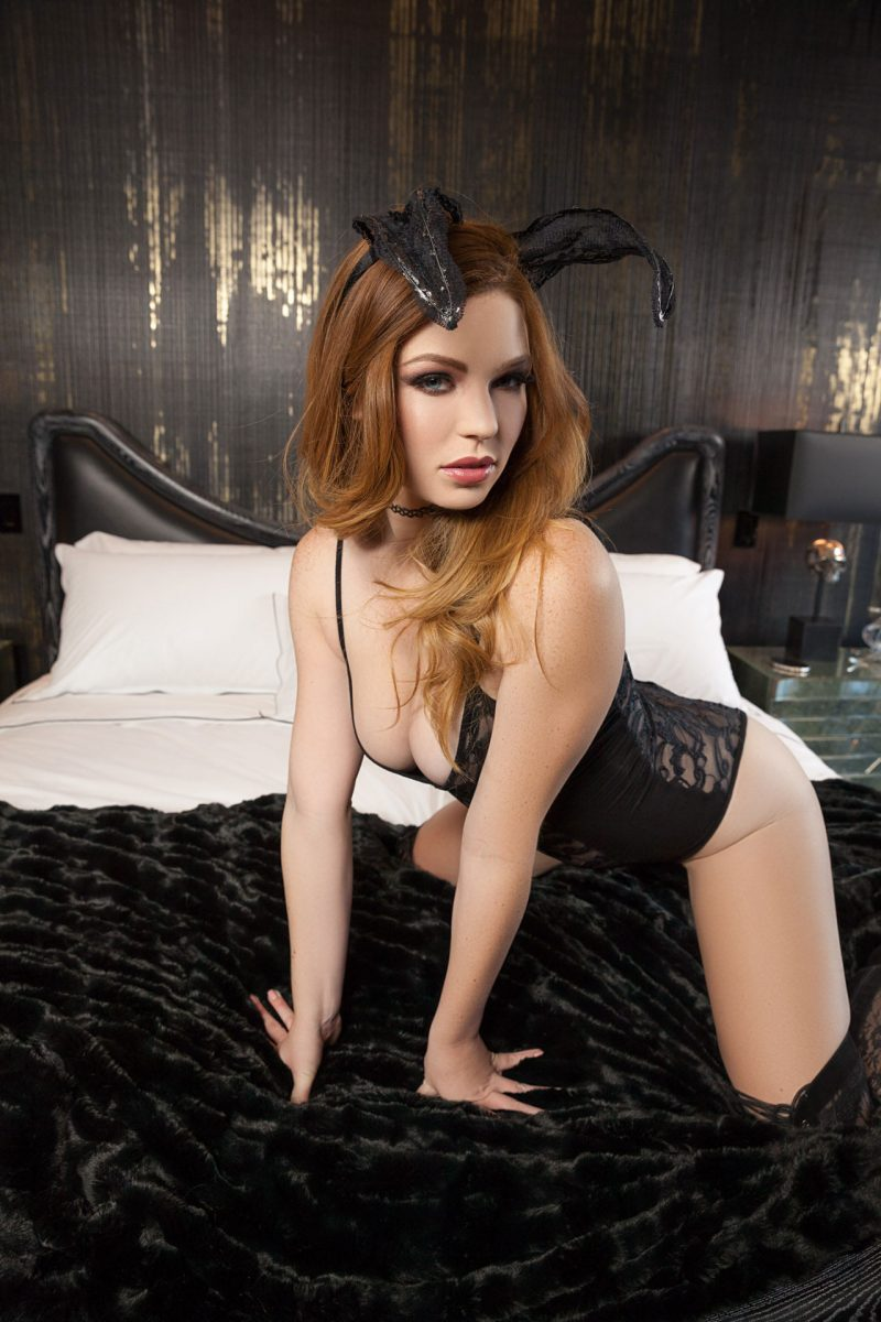 tawny-swain-knee-high-boots-redhead-playboy-01