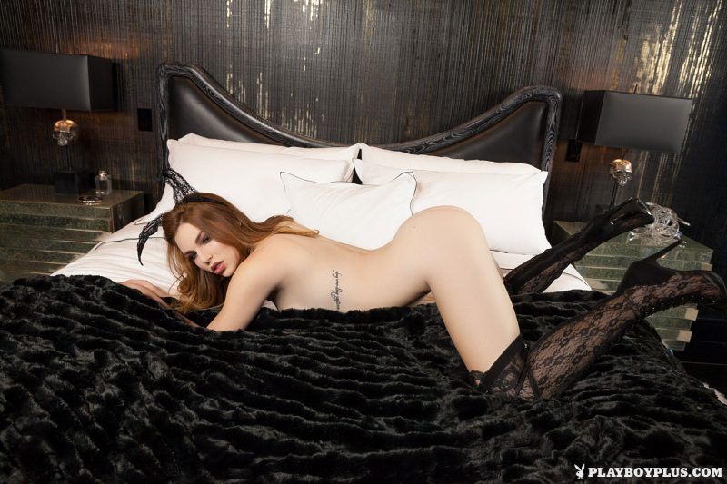 tawny-swain-knee-high-boots-redhead-playboy-10