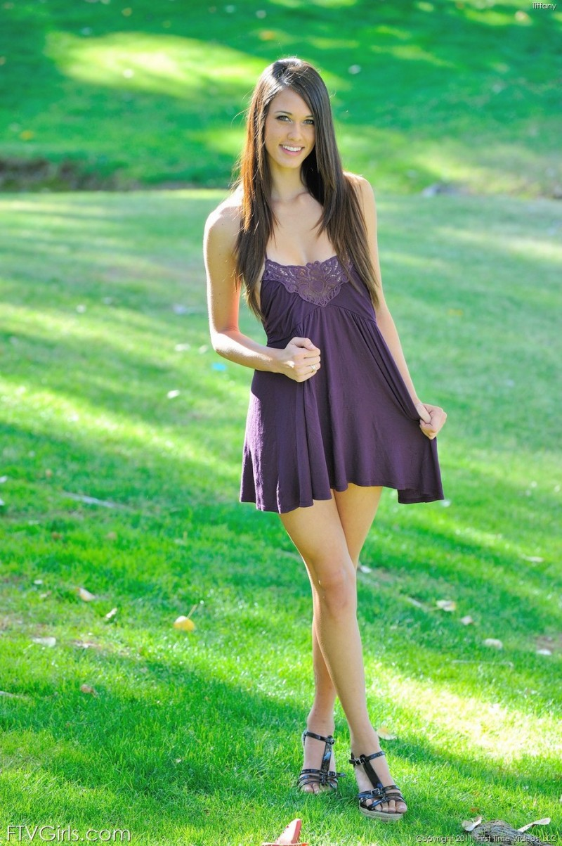 Thompson long dress tiffany