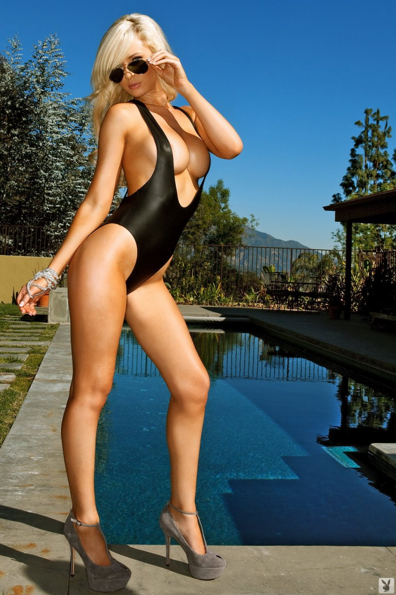 Tiffany Toth In One Piece Swimsuit