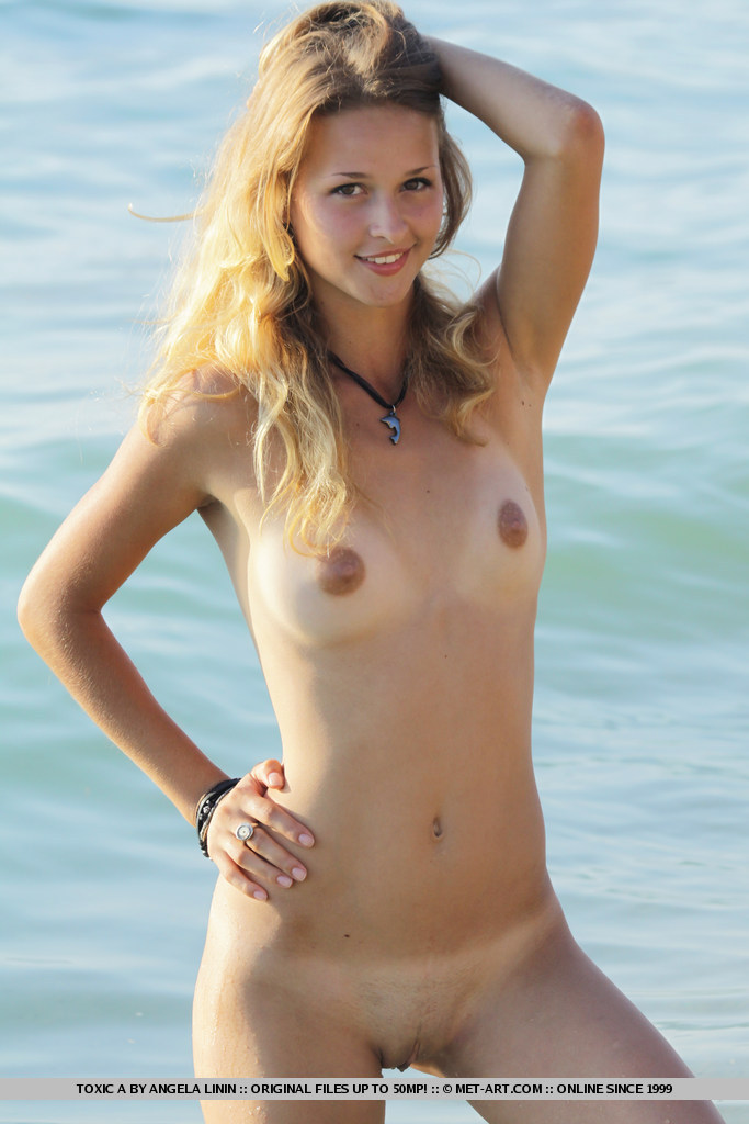 Found site Awesome girl student nudist beach something is