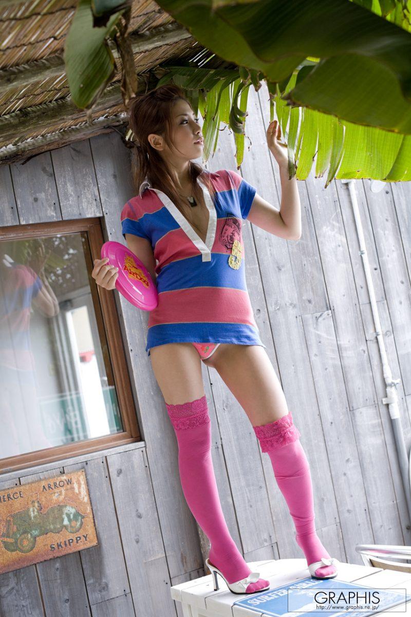 tsubasa-aihara-pink-stockings-nude-graphis-01
