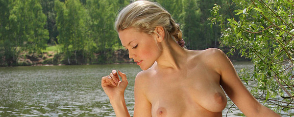 Valentina by the lake