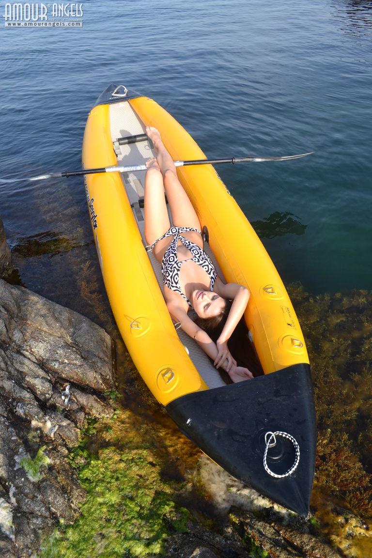 alexa-naked-bikini-inflatable-canoe-seaside-amour-angels-03