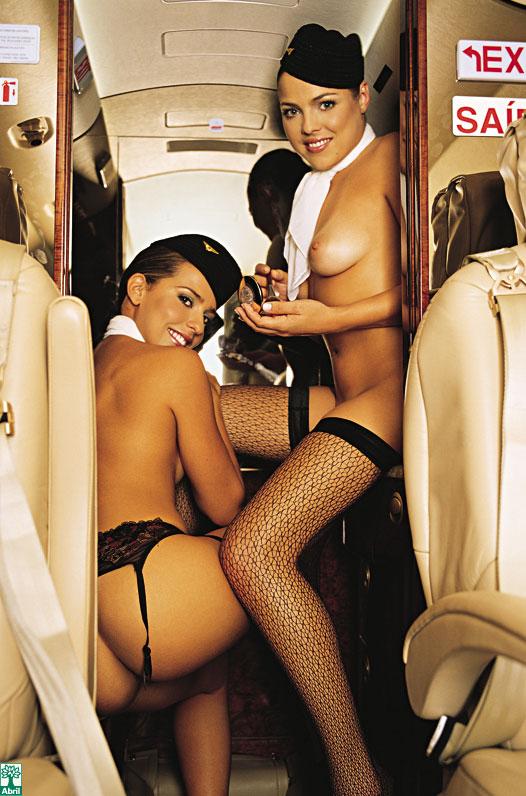обнаженные стюардессочки фото