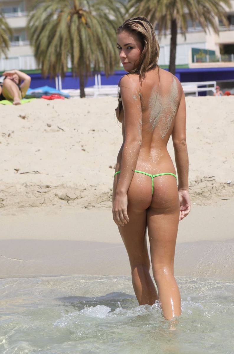 Naked thong beach girl — 14