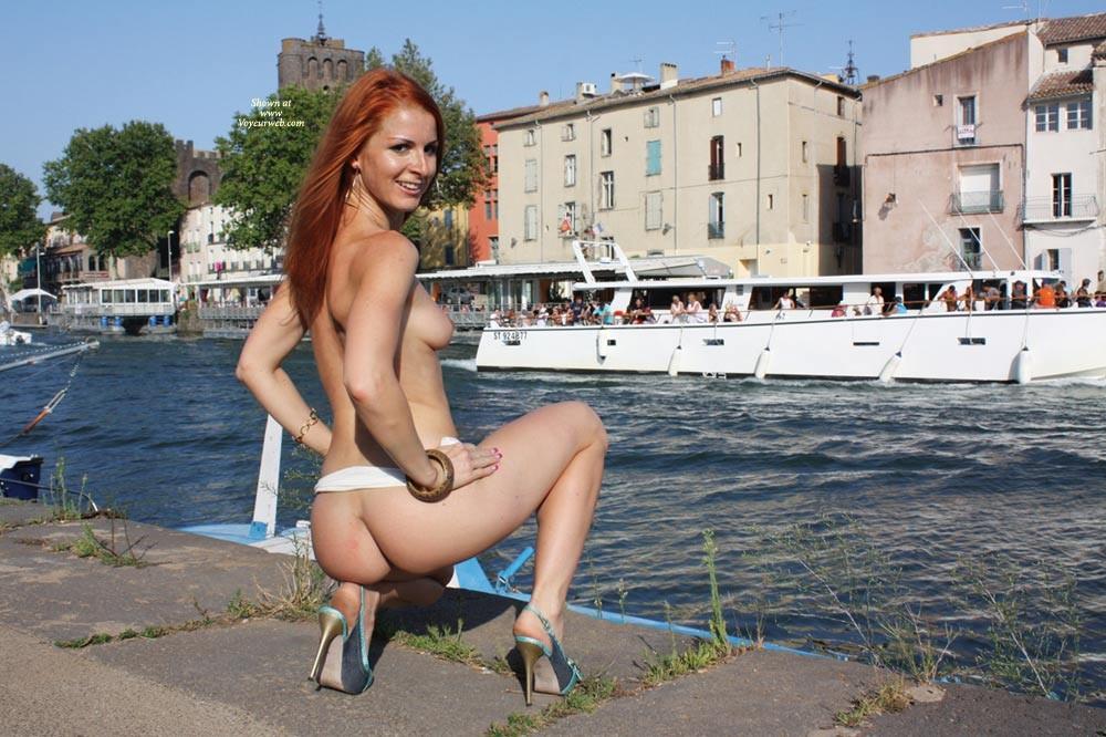 Redhead Nude Voyeur 20