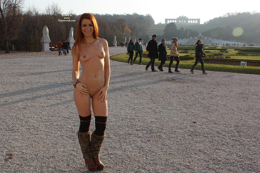 Redhead Nude Voyeur 10