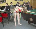 Nude in Billard Club
