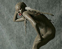 Mud angel