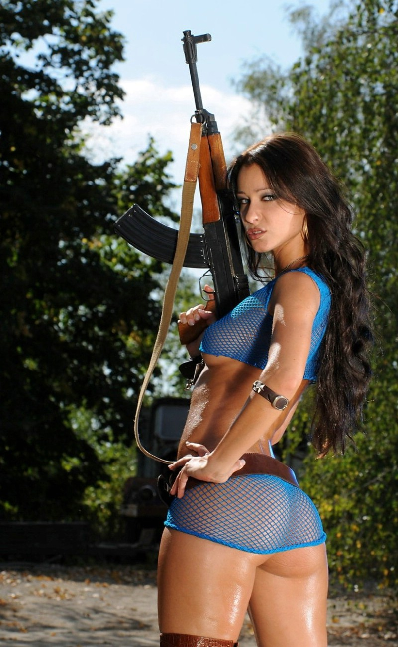 Muslim girl ak 47 nude hot agree, very