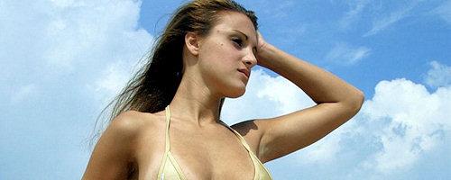 Andie in bikini