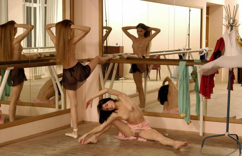Naked ballerinas