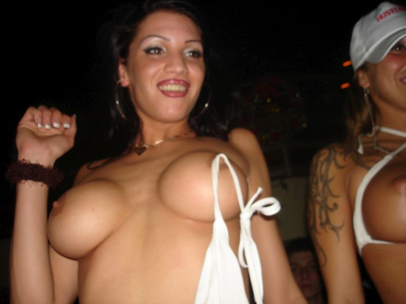 Dancing boobies