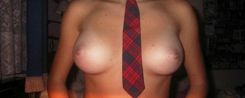 Girls in ties