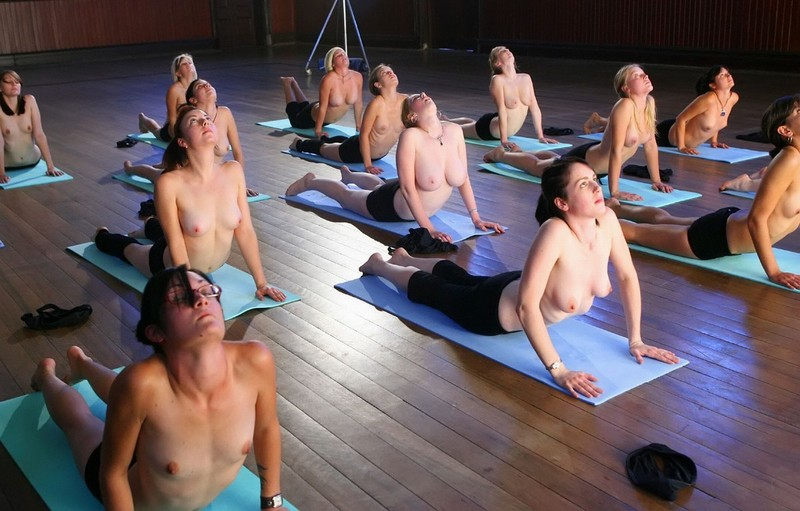 group nude yoga australia