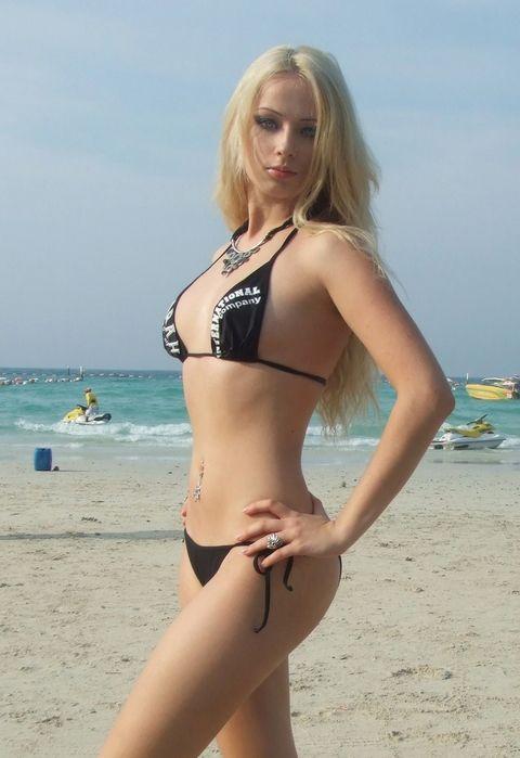Hot amateur blond