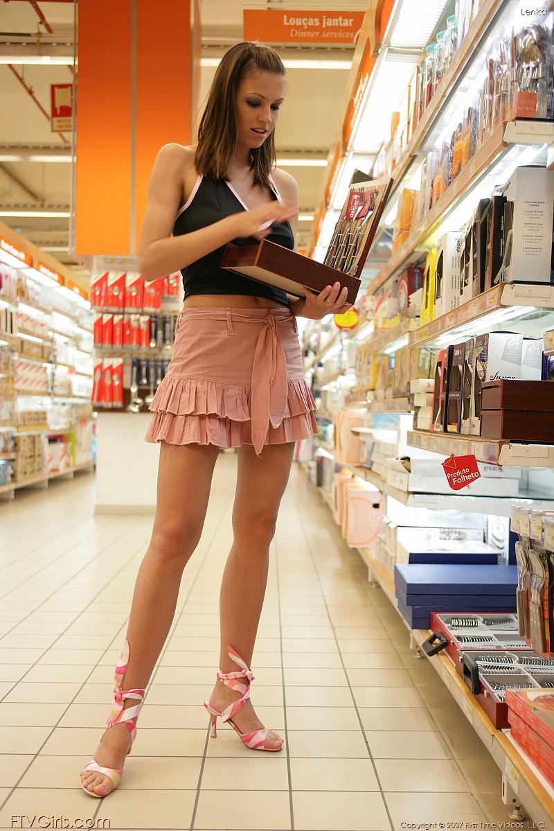 Girls naked girl in supermarket shirya saran latin