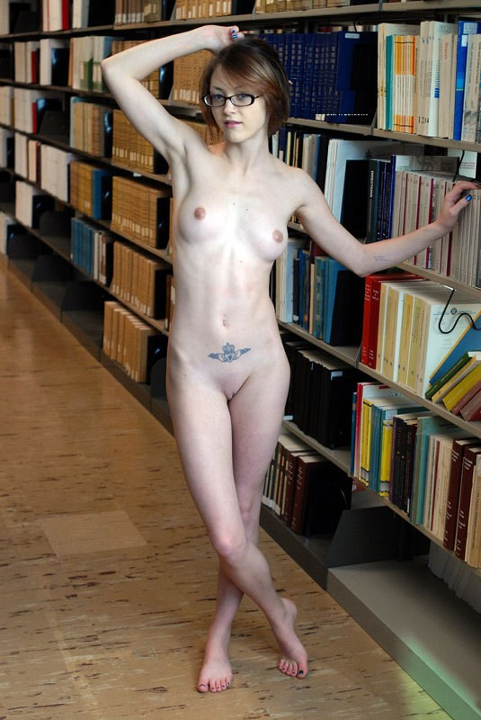 Girl of library