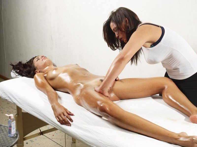 shemale erotic oil massage