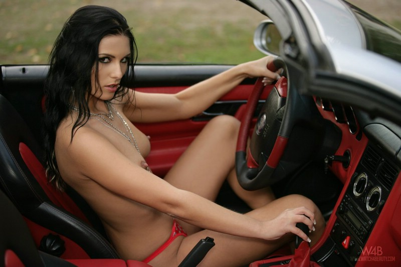 Red sweet adri corvette