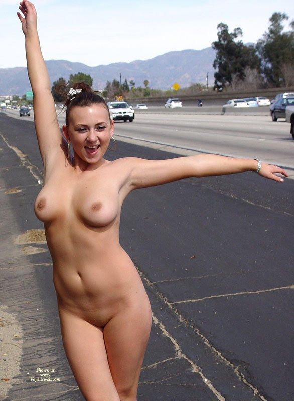 Naked on the highway