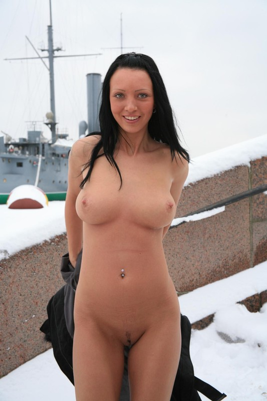 More modest Nude girl public snow suggest