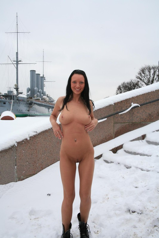 For Nude girl in the snow topic, pleasant