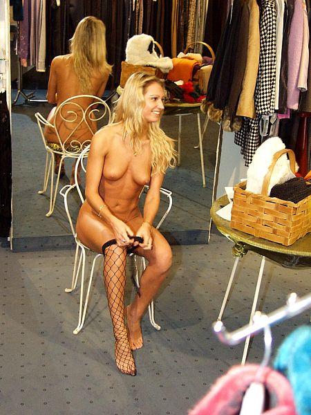 Naked shopping