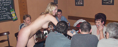 Nude in the Pub