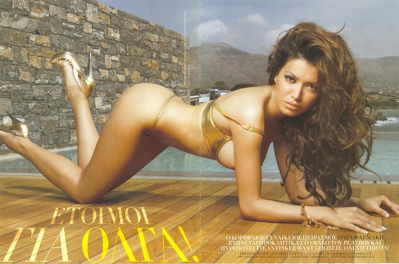 Olga Farmaki Nude Pics