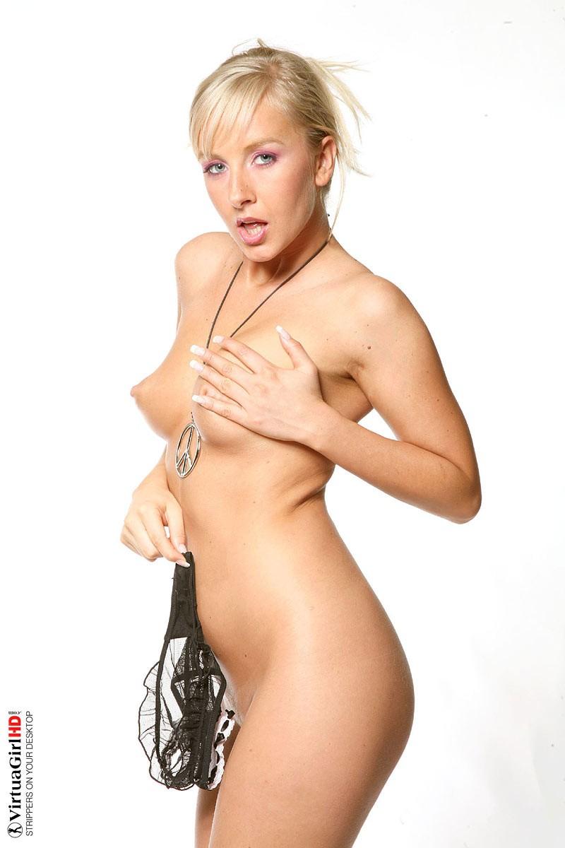 Girls having fun with their panties