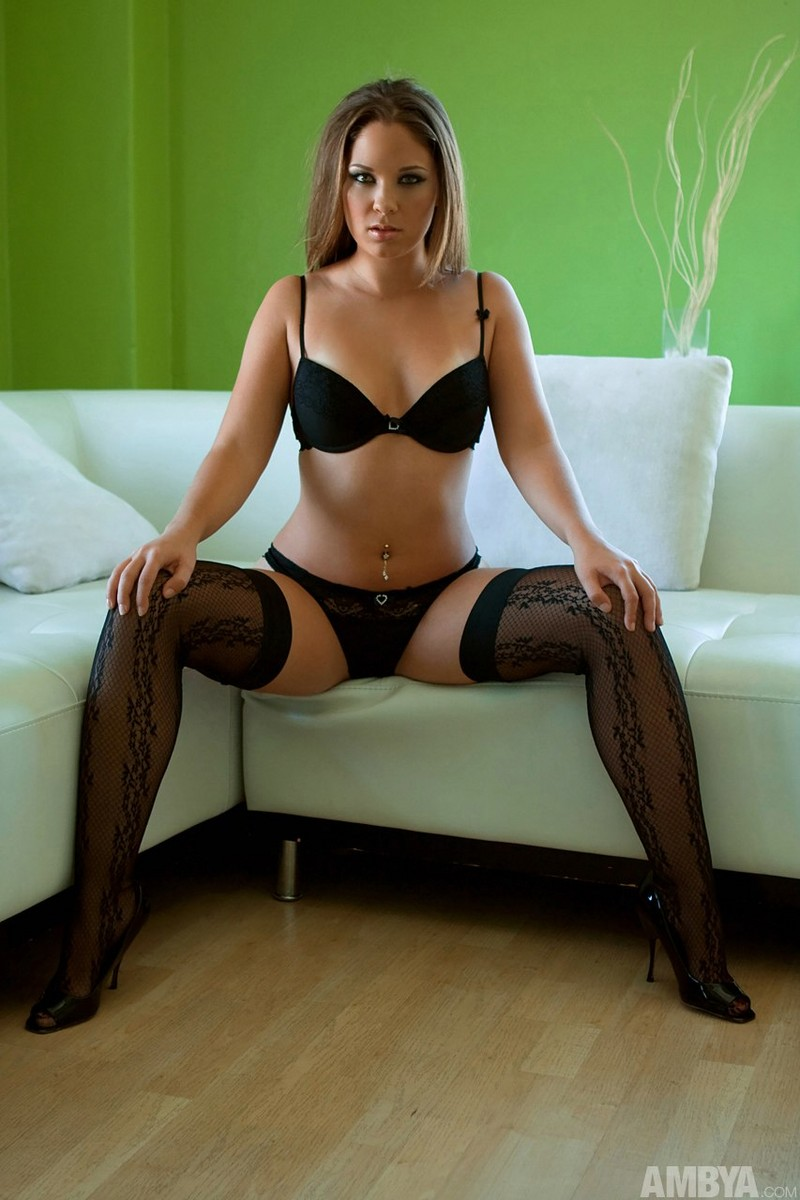 Sexy black stockings