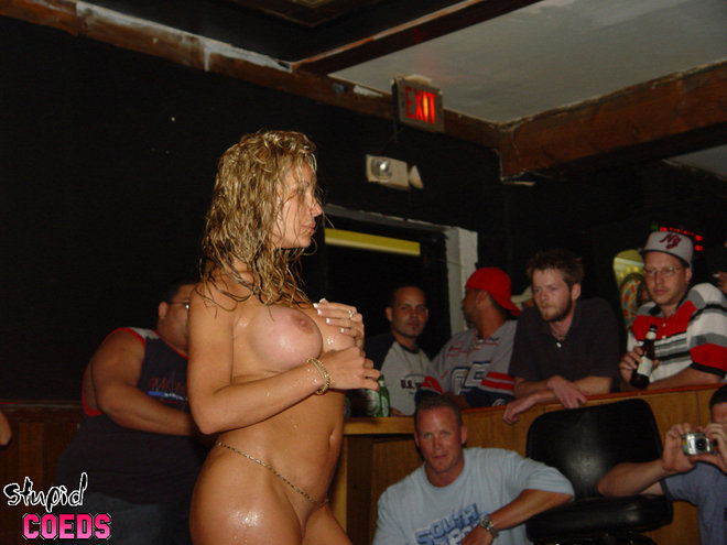 Wild wet tshirt contest at a nudest resort in indiana part1 10