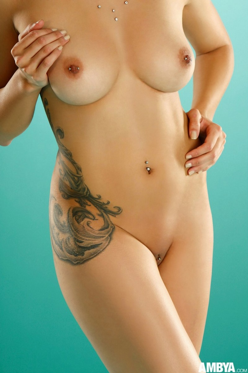 Nice tatto on sexy body