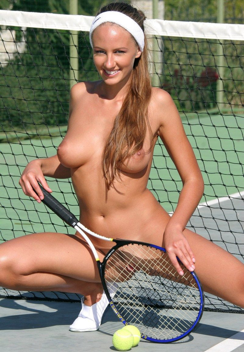 You Naked tennis with you