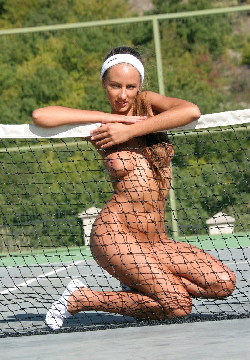Sexy tennis player