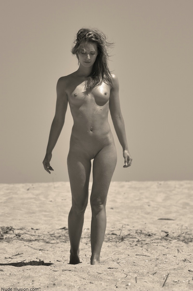 Two girls on beach